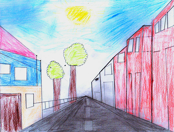 Awesome Arts Plastiques Chambre En Perspective Contemporary ...